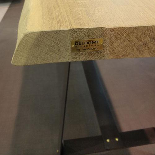 Fabrication Sur Mesure De Table En Bois Delorme Meubles