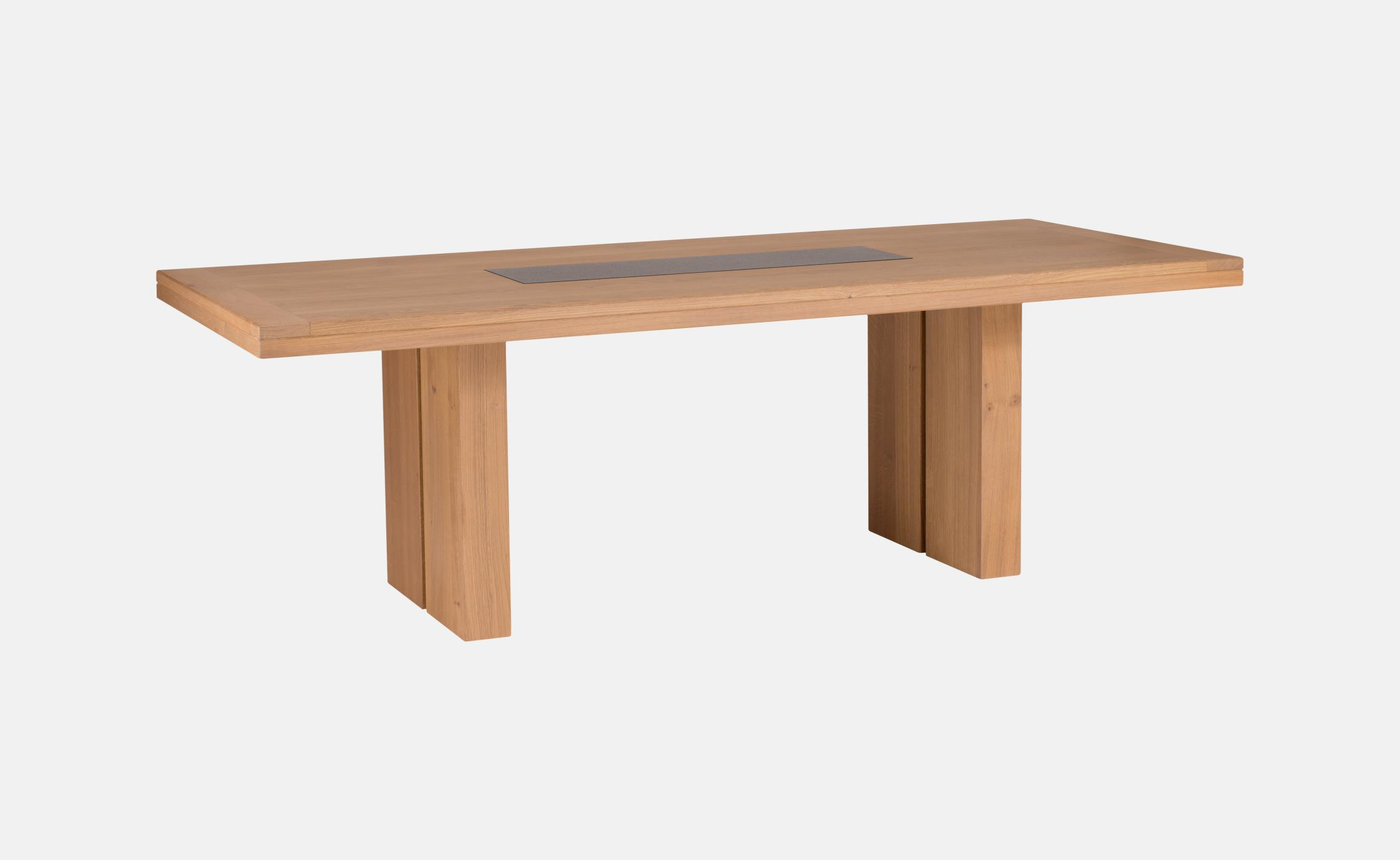 Table avec granit incruste