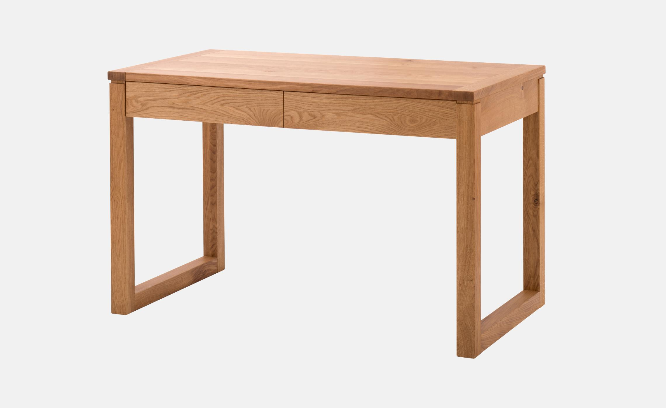 Table a ecrire contemporaine en chene