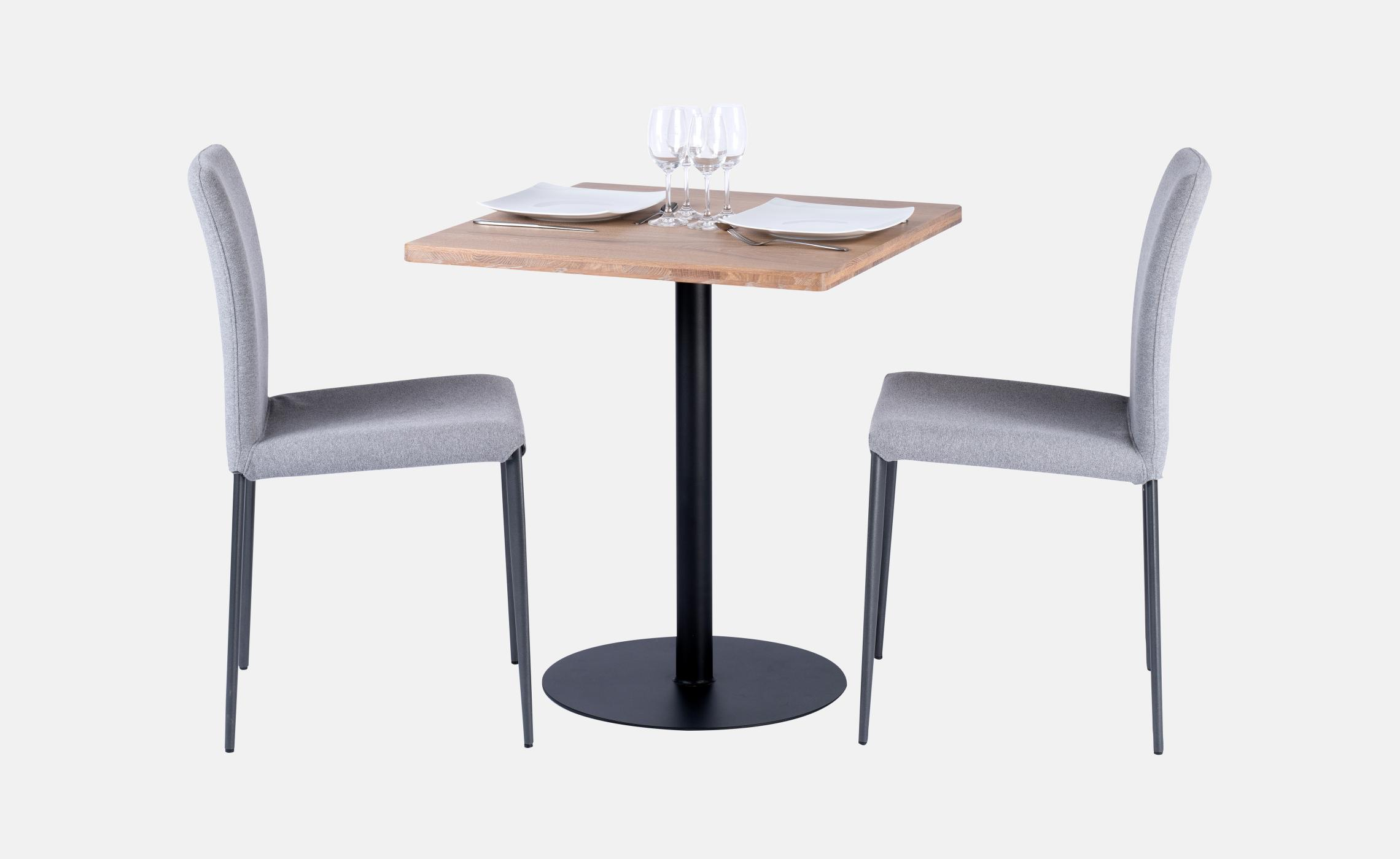 table de repas plateau bois pour restaurant agape delorme meubles. Black Bedroom Furniture Sets. Home Design Ideas