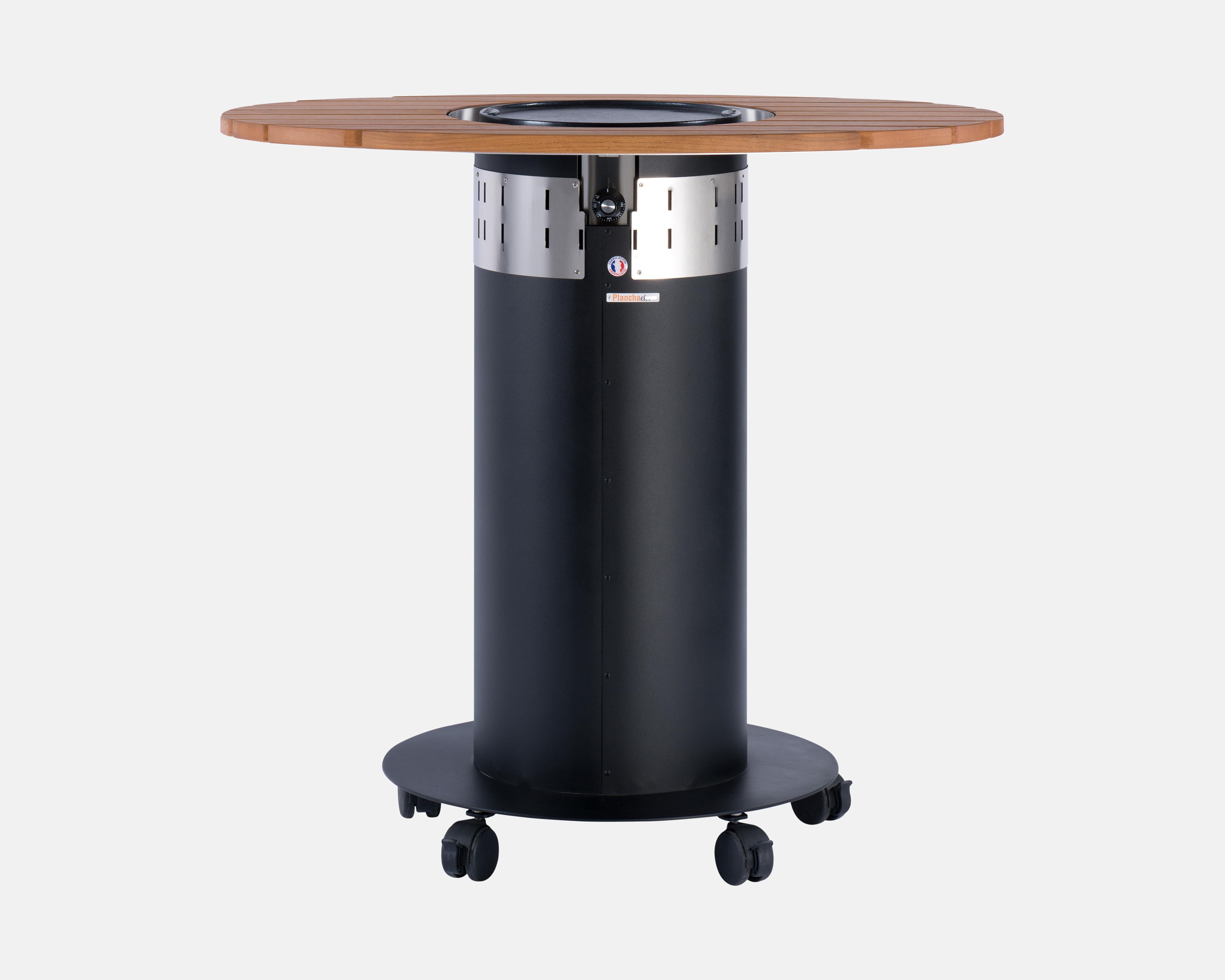 mange debout ovale avec plancha lectrique int gr e agape delorme meubles. Black Bedroom Furniture Sets. Home Design Ideas