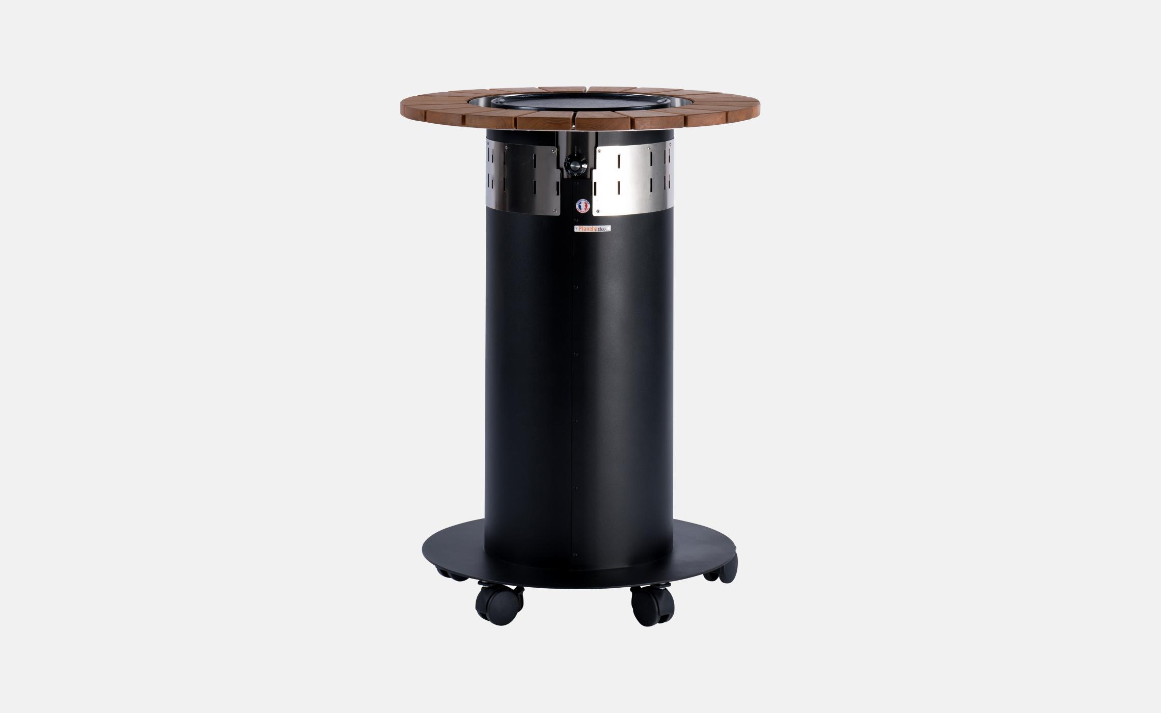 mange debout rond avec plancha lectrique int gr e agape. Black Bedroom Furniture Sets. Home Design Ideas